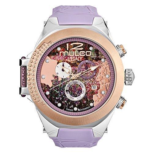 Mulco Legacy Impresionism Swiss Chronograph Movement Women's Watch