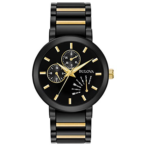 Bulova Men's Analog-Quartz Watch with Stainless-Steel Strap