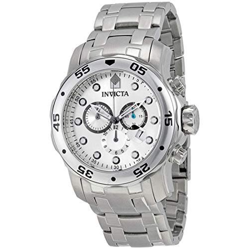 Invicta Men's Pro Diver Collection Chronograph Stainless Steel Watch