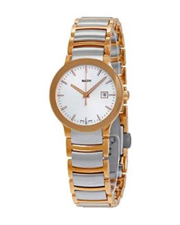 RADO Women's Centrix - Two-Tone Silver/Rose Gold One Size