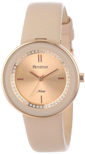 Armitron Women's Rose Gold-Tone Watch with Swarovski Crystals