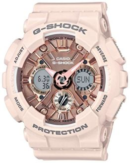 Casio Women's 'G Shock' Quartz Stainless Steel Watch