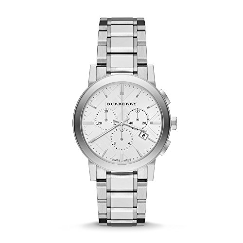 Burberry The City Stainless Steel Chronograph Ladies Watch
