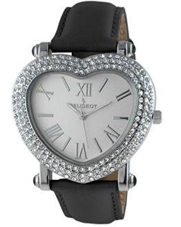 Peugeot Womens Heart Shaped Wrist Watch