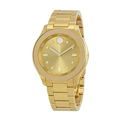 Movado Women's Swiss Quartz Tone and Gold Plated Casual Watch