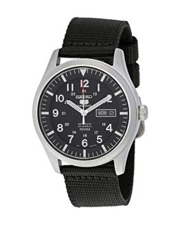 Seiko Men's SNZG15 Seiko 5 Automatic Stainless Steel Watch with Nylon Strap