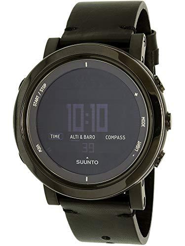Suunto Men's Essential SS022437000 Black Leather Swiss Quartz Watch
