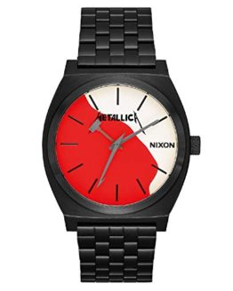 Nixon Men's Time Teller Metallica Collection Black/Kill Em All One Size