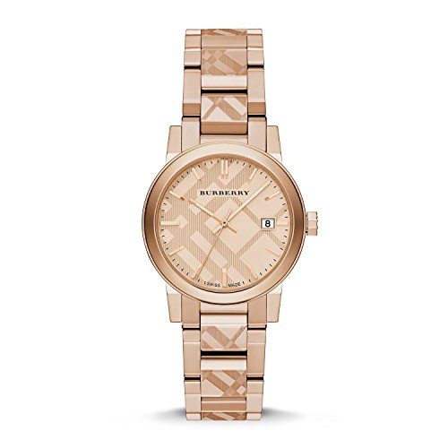 Burberry The City Rose Gold-Tone Ladies Watch