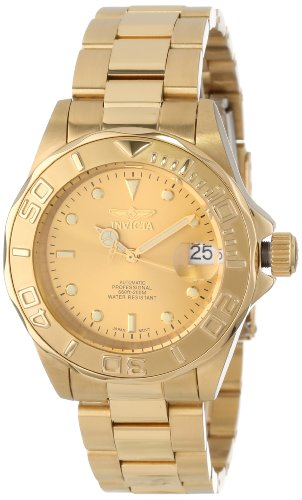 Invicta Men's 18k Gold Ion-Plated Automatic Watch