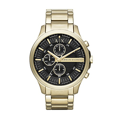 Armani Exchange Men's AX2137 Gold Watch