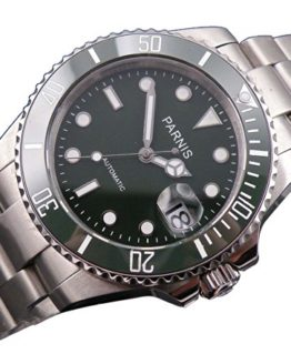 Mixed Olives Dial SEA Style Automatic Mens Womens Watch