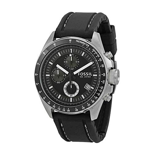 Fossil Men's Decker Stainless Steel Chronograph Watch