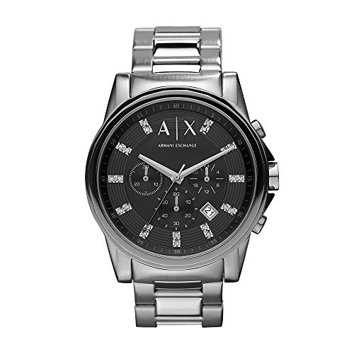 Armani Exchange Men's AX2092 Silver Watch