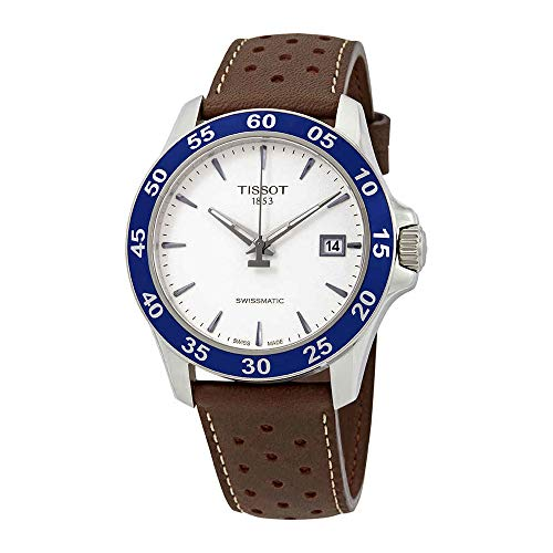 Tissot V8 Automatic Silver Dial Mens Watch