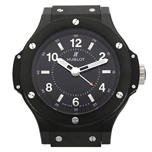 Hublot Black Magic Quartz (Battery) Black Dial Mens Watch