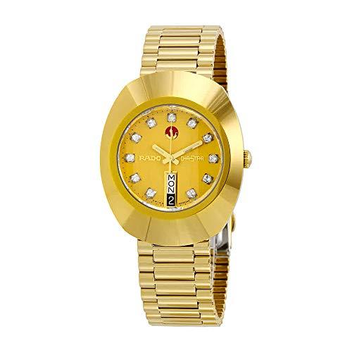 Rado Men's R12413493 Original Gold Dial Watch