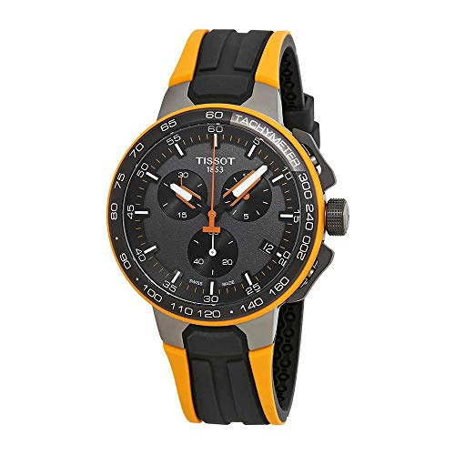 Tissot Men's T-Race Cycling - Black/Orange One Size
