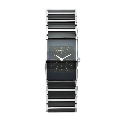 Rado Women's Integral Black Dial Ceramic Case Watch