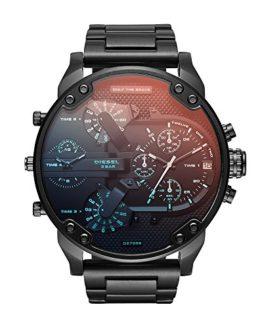 Diesel Men's Mr. Daddy 2.0 Black IP Watch