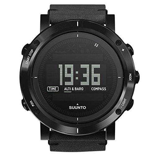 Suunto Men's Essential SS021215000 Black Leather Quartz Watch