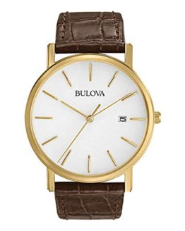 Bulova Men's Gold-Tone Stainless Steel Watch