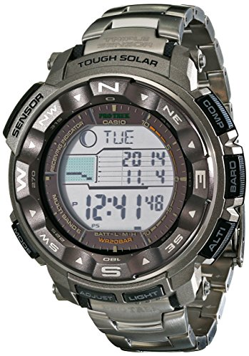 Casio Men's Pro Trek Tough Solar Digital Sport Watch