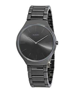 Rado True Thinline Black Dial Men's Watch R27262102
