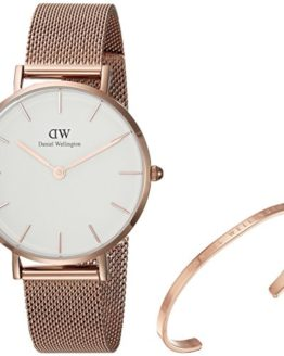 Daniel Wellington Gift Set, Classic Petite Melrose 32mm Watch