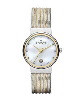 Skagen Women's 'White Label' Quartz Stainless Steel Dress Watch