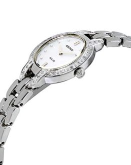 Seiko Women's TRESSIA Japanese-Quartz Watch with Stainless-Steel Strap