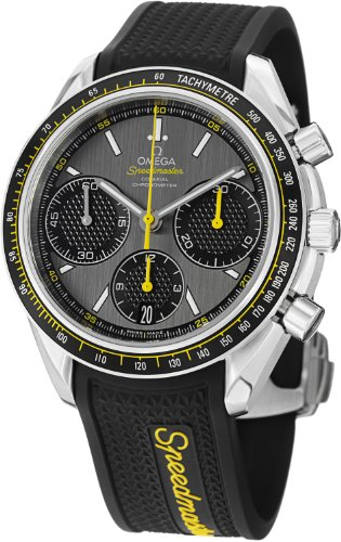 Omega Speedmaster Racing Grey Dial Mens Watch