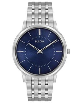 Bulova Men's Classic Collection Quartz Blue Dial Watch