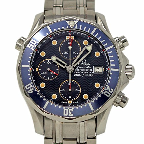 Omega Seamaster Swiss-Automatic Male Watch (Certified Pre-Owned)