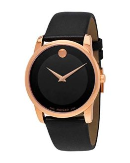 Movado Men's Classic Museum - 0607078 Rose Gold One Size
