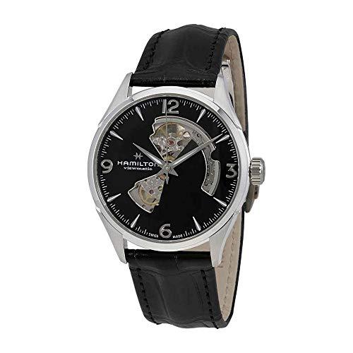 Hamilton Jazzmaster Automatic Open Heart Black Dial Mens Watch H32705731