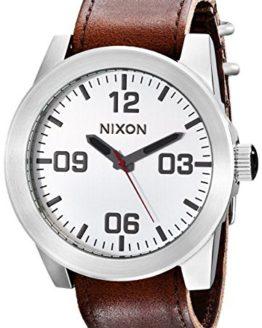 NIXON Men's Corporal Series Analog Quartz Watch / Leather or Canvas Band