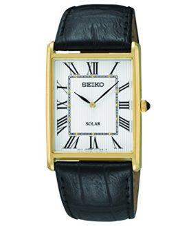 Seiko Men's SUP880 Analog Display Japanese Quartz Black Watch