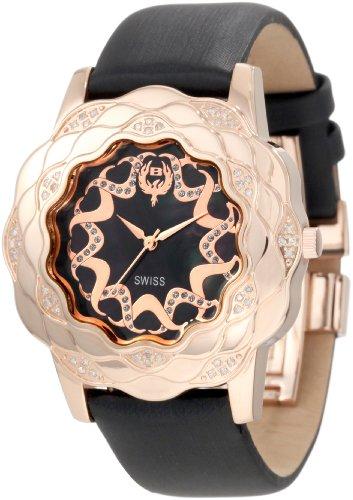 Brillier Women's ' La Fleur Swiss Quartz Stainless Steel Watch