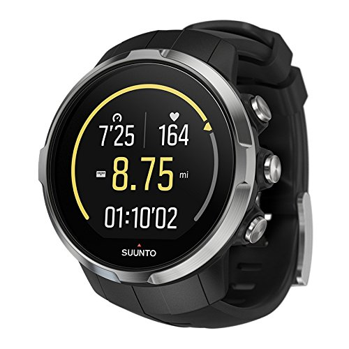 Suunto Unisex Spartan Sport Black (HR) Digital Display Outdoor Watch