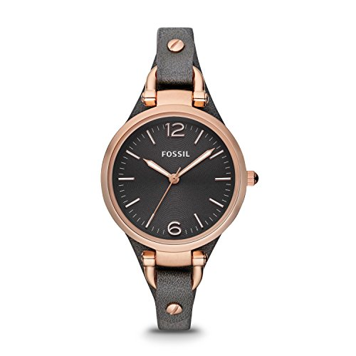 Fossil Women Georgia, Rose Gold-Tone Stainless Steel