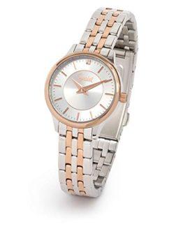 Speidel Ladies' Stainless Steel Watch with Swarovski Crystal on Silver Dial