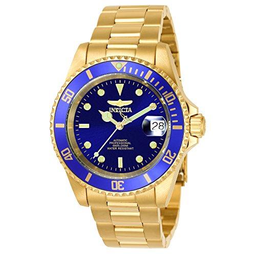 Invicta Men's Pro Diver Automatic Gold-Tone Bracelet Watch