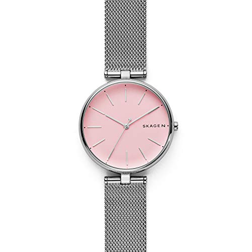 Skagen Women's Quartz Stainless Steel Casual Watch, Color:Silver-Toned