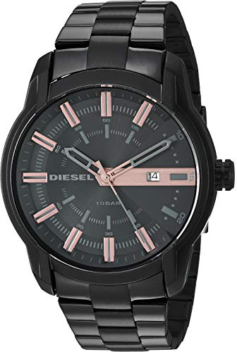 Diesel Men's 'Armbar' Quartz Stainless-Steel-Plated Watch