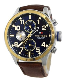 Tommy Hilfiger Men's Cool Sport Two-Tone Stainless Steel Watch