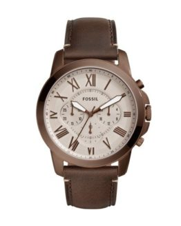 Fossil Men's Grant Stainless Steel Quartz Watch