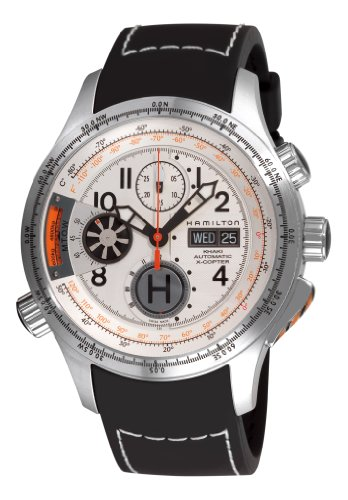 Hamilton Men's Khaki White Chronograph Dial Watch
