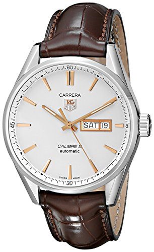 TAG Heuer Men's Carrera Analog Display Analog Quartz Brown Watch