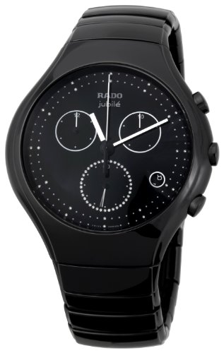 Rado Men's R27814702 True Black Ceramic Bracelet Watch